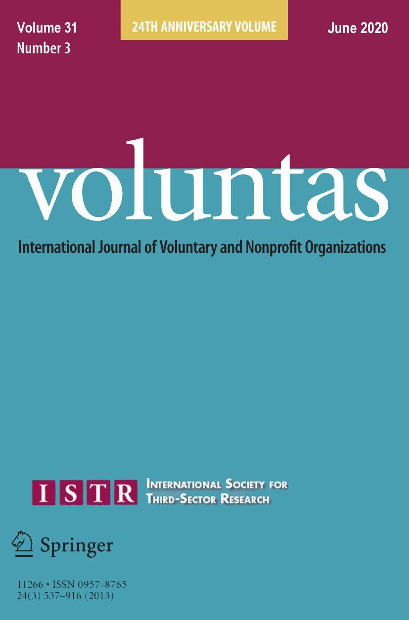 Exploring Networking of Third Sector Organizations: A Case Study Based on the Quartieri Spagnoli Neighborhood in Naples (Italy)